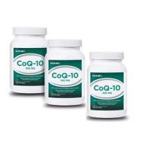 GNC辅酶CoQ10软胶囊100mg增强心肌动力 120粒 *3瓶