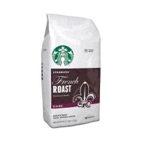 Starbucks星巴克咖啡豆 法式浓香深度烘焙咖啡豆 黑咖啡 可冲泡110杯 1130g