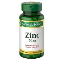 Nature's Bounty 自然之宝 营养锌片 50mg100粒 男士备孕补锌提高活力增强抗体