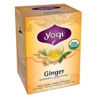 美国Yogi瑜伽茶有机生姜茶 祛寒促消化 16包