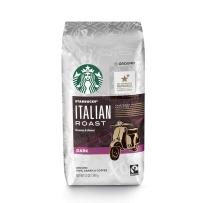 Starbucks 星巴克 非速溶烘焙黑咖啡粉 意式烘焙黑咖啡粉(深度烘焙)