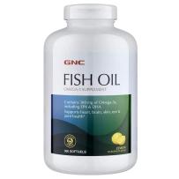 GNC 深海鱼油软胶囊300mg 360粒