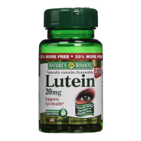 Nature's Bounty lutein 自然之宝叶黄素 20mg40粒 抗压护眼