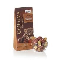 GODIVA  歌蒂梵 焦糖布朗尼松露巧克力宝石块 125g