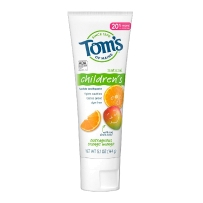 TOM's Of Maine天然含氟儿童牙膏144g-橙子芒果味