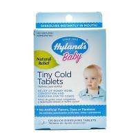 Hyland's儿童婴幼儿维生素C片VC小片抗感冒顺势疗法新冒125粒