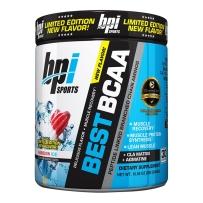 bpiSPORTS BCAA支链氨基酸 健身减脂增肌防分解300g彩虹冰新口味