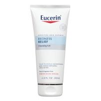 美国Eucerin 优色林 舒缓洁面乳 200毫升 去红血丝抗红修复洗面奶温和不刺激