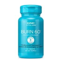 GNC 健安喜 瓜拉纳Born60 左旋肉碱 60粒 燃脂减重塑身
