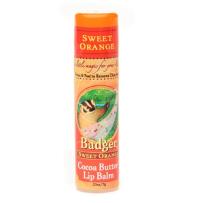 Badger贝吉獾cocoa butter可可脂润唇膏 甜橙味 7g大容量