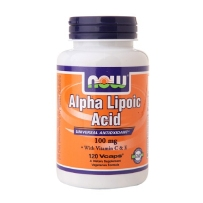 Now Foods Alpha Lipoic Acid硫辛酸100 mg 降血糖 120粒