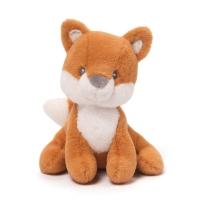 Gund Baby 躲猫猫害羞菲比儿童安抚玩具毛绒公仔 洛可可狐狸拨浪鼓
