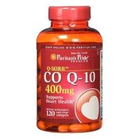 Puritan's pride 辅酶软胶囊Q10 400mg  120粒 心脏保护