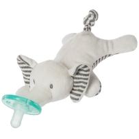WubbaNub 可爱动物系列安抚奶嘴 婴儿大象奶嘴