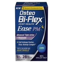 Osteo Bi-Flex 关节健康 夜间轻松 增强三重活力+褪黑素 28片迷你片