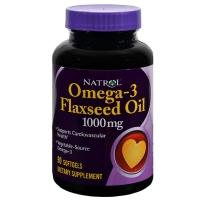 Natrol 纳妥 Omega-3亚麻籽油 1000 mg 90粒