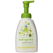 BabyGanics  甘尼克 泡沫洗发沐浴露 473ml  洋甘菊马鞭草