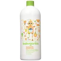 BabyGanics 甘尼克 泡沫奶瓶餐具清洁剂补充装(桔香型) 946ml