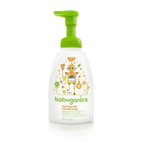 BabyGanics 甘尼克 泡沫奶瓶餐具清洁剂 柑橘香型 473ml
