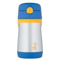 膳魔师Foogo BS535BL003不锈钢保温吸管杯 蓝色