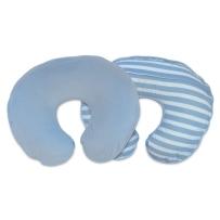 Boppy 多功能婴儿哺乳枕套  蓝白条纹