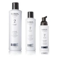 NIOXIN俪康丝2号防脱生发洗发水护发素精华液套装 严重脱发适用