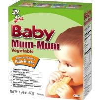 Baby Mum-Mum旺旺 磨牙米饼(仙贝) 蔬菜味 50g