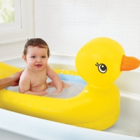 Munchkin 麦肯奇 婴幼儿充气小鸭安全浴盆