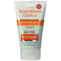 Neutrogena 露得清 Acne Control 无油祛痘磨砂洁面乳  125ml