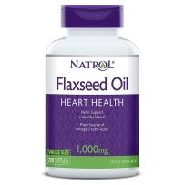 Natrol 纳妥 Omega-3亚麻籽油 1000 mg 200粒
