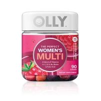 OLLY Women's Multi完美女性多种维生素叶酸软糖90粒