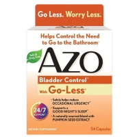 AZO膀胱控制54粒改善尿频尿急尿不尽夜尿过多虚