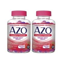 Azo 蔓越莓软糖 混合莓果口味 40粒*2瓶装