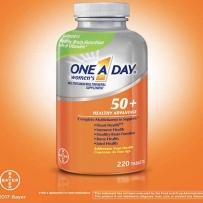 One A Day 美国拜耳每天一粒50+女性复合维生素220粒