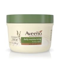 Aveeno 成人日常保湿酸奶优格身体保湿润肤霜乳香草燕麦  198g 罐