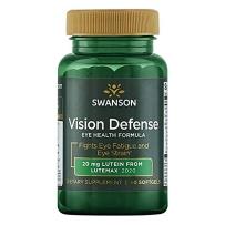 Swanson斯旺森 视觉防御配方健康眼睛含叶黄素甘蓝虾青素 60粒