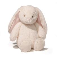 Gund Baby 舒适版大号动物系列毛绒玩具礼物 Thistle 可爱兔 奶油色