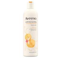 Aveeno 艾维诺  成人白桃生姜精华抗氧化保湿沐浴乳露 473ml孕产妇可用