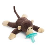 WubbaNub 可爱动物系列安抚奶嘴 婴儿猴子奶嘴