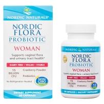 Nordic Naturals 挪威小鱼加强版女性益生菌+蔓越莓 60粒