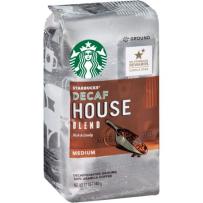StarBucks 星巴克 House Blend咖啡粉 中度烘焙  340g 低咖啡因