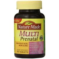 Nature Made  孕妇综合维生素片 含叶酸 90粒