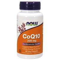 NOW Foods诺奥 辅酶Q10软胶囊200mg 60粒 CoQ10保护心脏养护心脑血管提升精力
