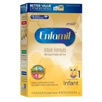 Enfamil 美赞臣 新版金樽 1段 婴儿配方奶粉 941g