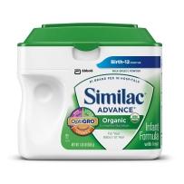 Similac 雅培金盾 1段 有机配方婴儿奶粉 658g