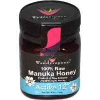 Wedderspoon 新西兰 有机纯天然麦卢卡蜂蜜 12+  250g