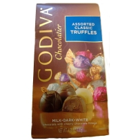 GODIVA  歌蒂梵  经典款松露巧克力什锦装 120g