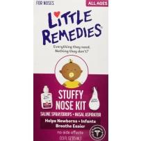 Little Noses 盐水喷(滴)鼻剂 + 吸鼻器套装