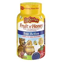 L'il Critters小熊糖蜂蜜口味复合维生素儿童软糖120粒装