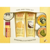 Burt's Bees 小蜜蜂手足唇护养6件超值套装